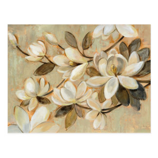Magnolia Simplicity Cream Postcard