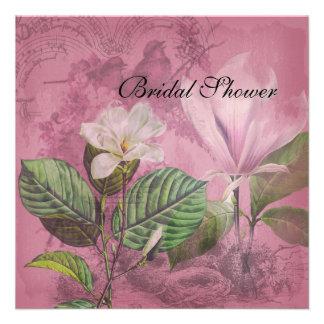 Magnolia Song Bridal Shower Invitation