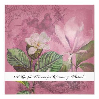 Magnolia Song Couple s Shower Invitation