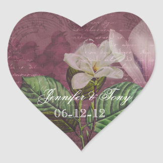 Magnolia Song Custom Heart Stickers
