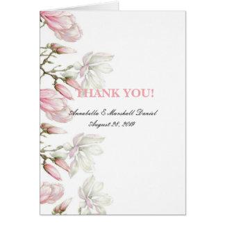 Magnolia Thank You Card
