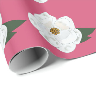 Magnolia Wrapping Paper