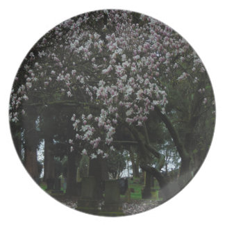 Magnolias Forever Plate