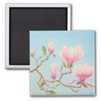 Magnolias in Bloom, Wisley Gardens in Pastel Magnet
