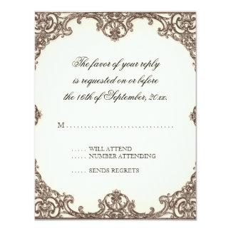 Magnolias n Bird of Paradise - RSVP Response Card