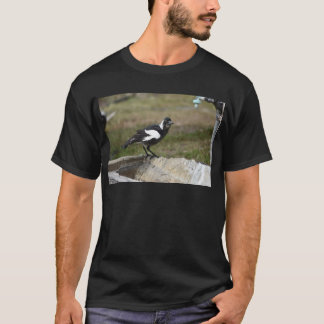 MAGPIE BLACK & WHITE RURAL QUEENSLAND AUSTRALIA T-Shirt