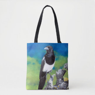 Magpie Colorful Corvid Bag