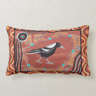 Magpie Dreaming Autumn Pillow Cushion