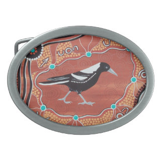 Magpie Dreaming Belt Buckle