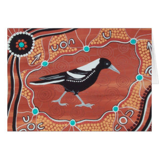 MAGPIE DREAMING CARD