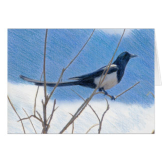 Magpie Fine Art Card
