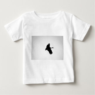 MAGPIE GEESE IN FLIGHT SILHOUETTE AUSTRALIA BABY T-Shirt