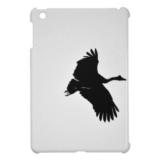 MAGPIE GEESE IN FLIGHT SILHOUETTE AUSTRALIA iPad MINI CASES