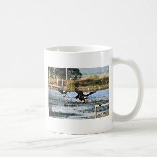 MAGPIE GEESE QUEENSLAND AUSTRALIA COFFEE MUG