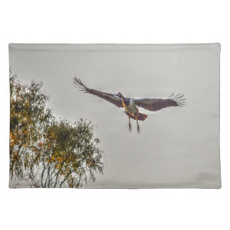 MAGPIE GOOSE AUSTRALIA ART EFFECTS PLACEMAT