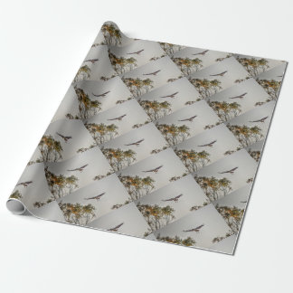 MAGPIE GOOSE AUSTRALIA ART EFFECTS WRAPPING PAPER