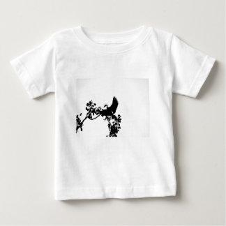 MAGPIE GOOSE IN FLIGHT SILHOUETTE AUSTRALIA BABY T-Shirt