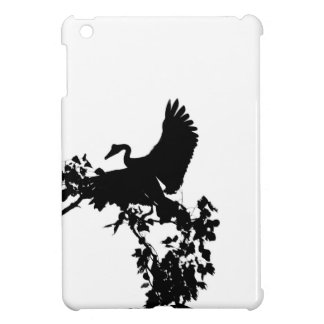 MAGPIE GOOSE IN FLIGHT SILHOUETTE AUSTRALIA iPad MINI CASES