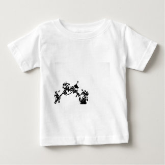 MAGPIE GOOSE IN TREE SILHOUETTE AUSTRALIA BABY T-Shirt