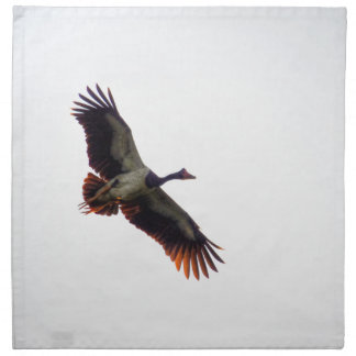 MAGPIE GOOSE QUEENSLAND AUSTRALIA ART EFFECTS NAPKIN