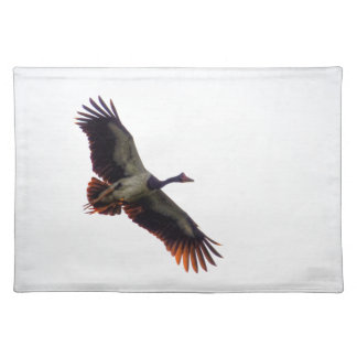 MAGPIE GOOSE QUEENSLAND AUSTRALIA ART EFFECTS PLACEMAT