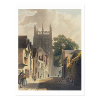 Magpie Lane, Oxford, illustration from the 'Histor Postcard