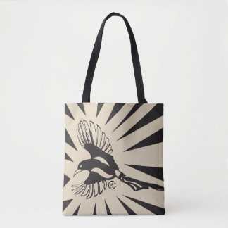 Magpie Message Tote