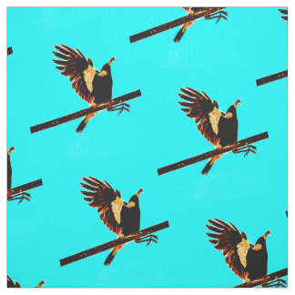 Magpie Over the bar Fabric