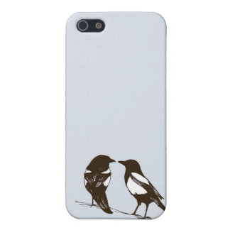 Magpie phone case - One for sorrow, Two for joy