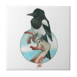 """Magpie"" Small Square Tile"