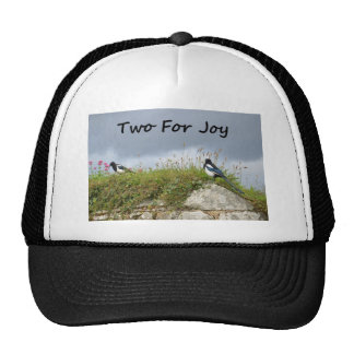 Magpies Two For Joy Cap