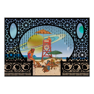 Magrathea Rising from Utopia Cytheria Bungalows Poster