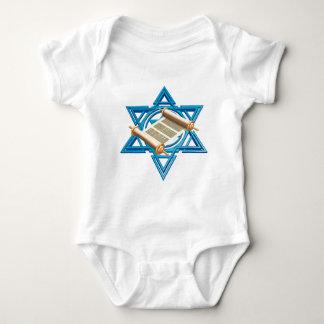 Maguen David Torah Baby Bodysuit