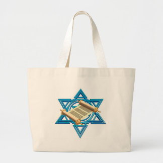 Maguen David Torah Large Tote Bag