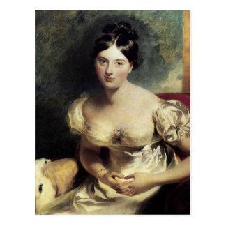 Maguerite Countess of Blessington Postcard
