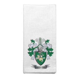 Maguire Coat of Arms Napkin