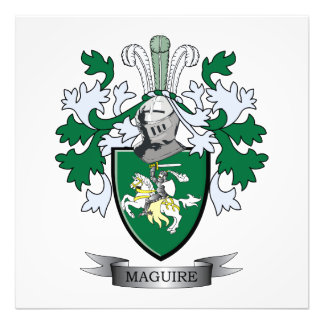 Maguire Coat of Arms Photo Print