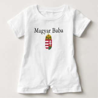 Magyar Baba w/Coat of Arms Baby Bodysuit