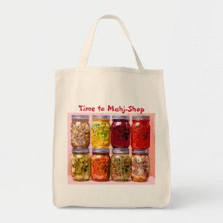 Mah Jong Grocery Bag