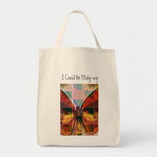 Mah Jong Grocery Totebag Tote Bag