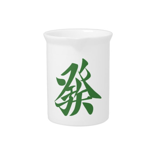 Mah-jongg 牌 發 pitcher