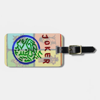 Mah Jongg Big Joker Luggage Tag