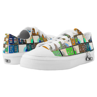 Mah Jongg Graphic Tiles Shoes