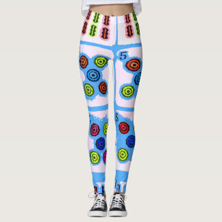 Mah Jongg Hand Leggings