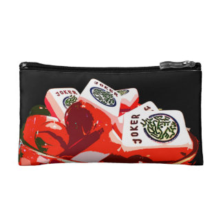 Mah Jongg Jello Jokers Small Cosmetic Bag