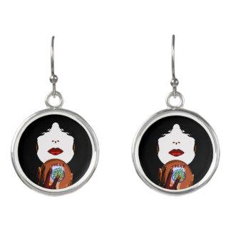 Mah Jongg Jewelry Earrings