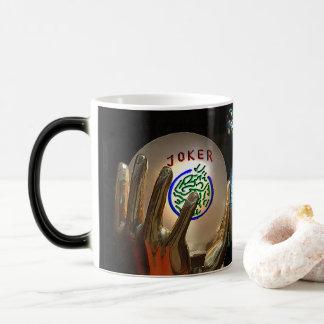 Mah Jongg Joker and Dragon MORPHING mug