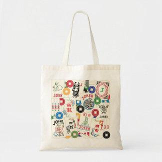 Mah Jongg Jokers and Coins Bag Canvas Bag