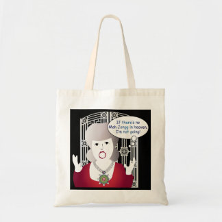 Mah Jongg Sayings Heaven Tote Bag