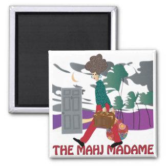 Mah Jongg The Mahj Madame Magnet